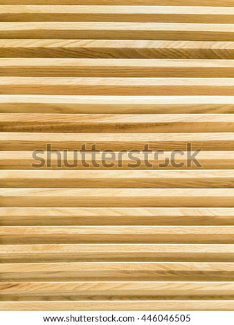 The wooden louver background texture - stock photo