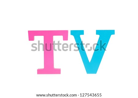 Image result for the word tv