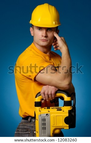 The worker 2 - stock photo
