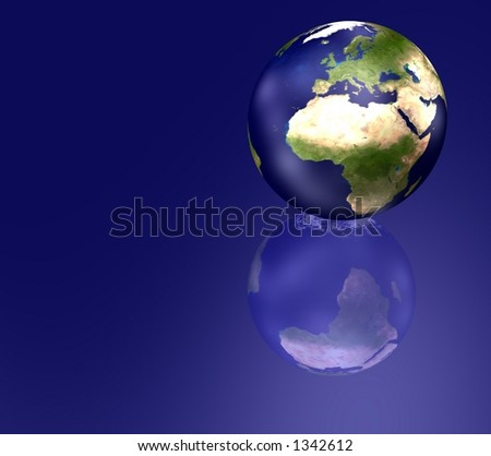 The World - stock photo