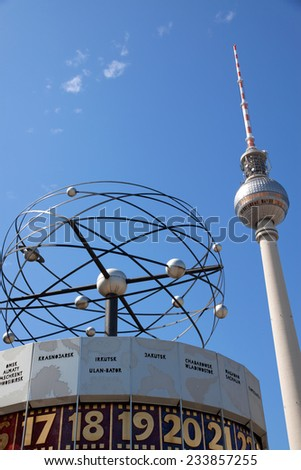 The World Clock. Berlin, Germany