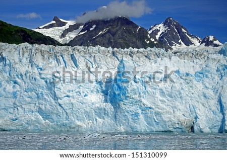 the wounderful meares glacier