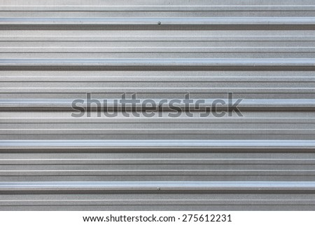 The zinc wall,background - stock photo