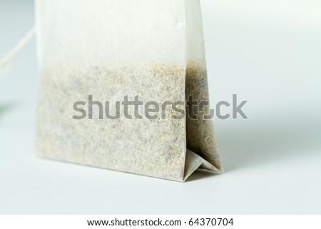 Theabag on white background - stock photo