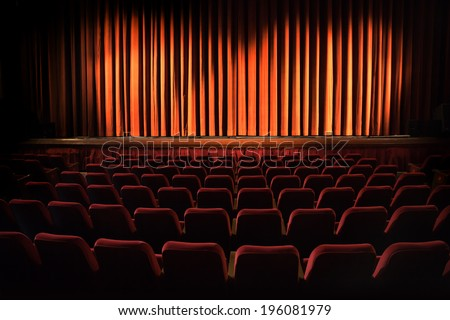 Theater - stock photo
