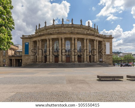 Theater in Stuttgart - stock photo