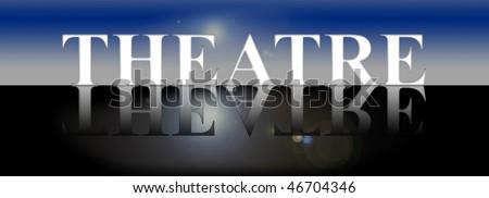 theatre - stock photo