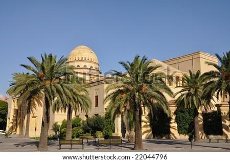 Theatre Royal in Marrakech, Morocco - stock photo