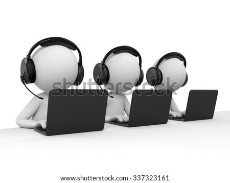 There are three tele consultants
