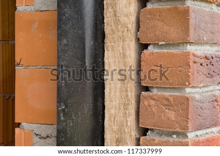 Thermal insulation - stock photo