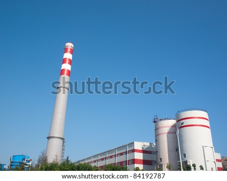Thermal power plant of China