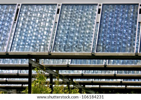 Thermal solar panels and installation