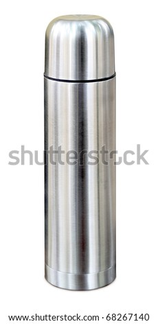 Thermo flask - stock photo
