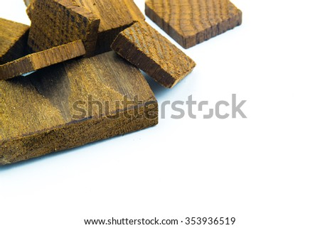 thermo wood tiles background