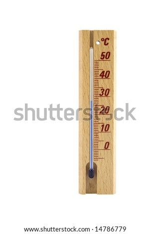Thermometer isolated on white background