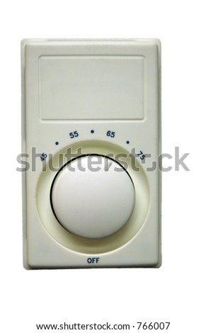 Thermostat - stock photo