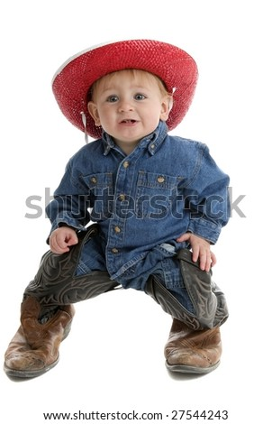 These boots are made for walking - stock photo