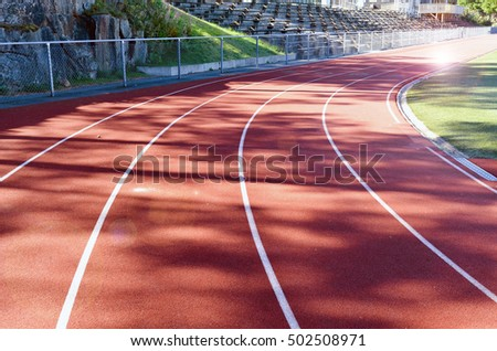 These running tracks are located in the Nacka IP in Nacka, Sweden.