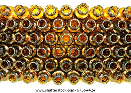 they are ember bottle abstract. - stock photo