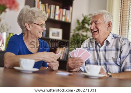 They love spending time together - stock photo