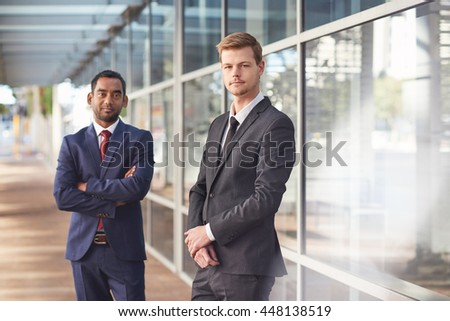 They're ready to take on the business world - stock photo