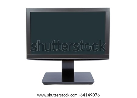 Thin Wide Monitor