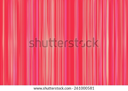 Thin yellow stripes on a red background - stock photo