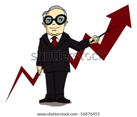 Things are looking good! - stock photo