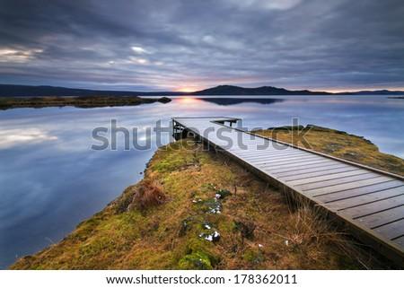 Thingvellir, Iceland. / Thingvellir - stock photo