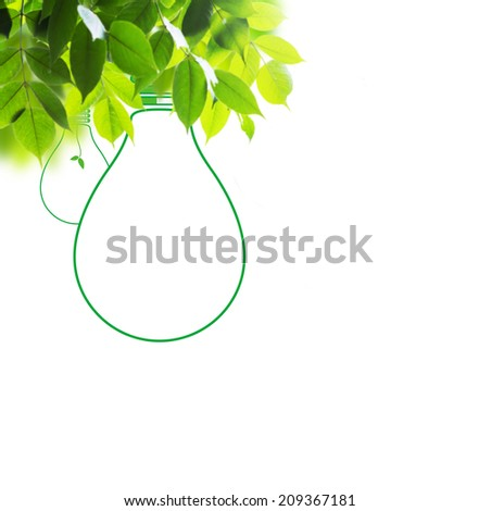 Think green - stock photo