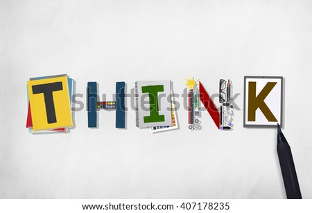Think Thinking Ideas Skill Start up Concept