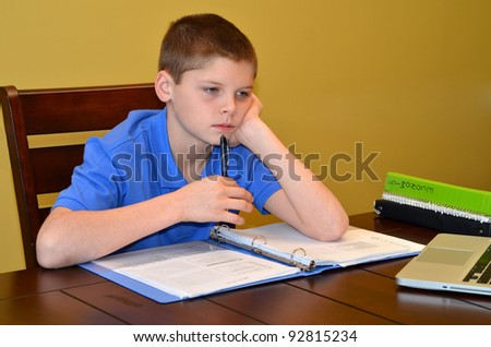 Thinking - stock photo