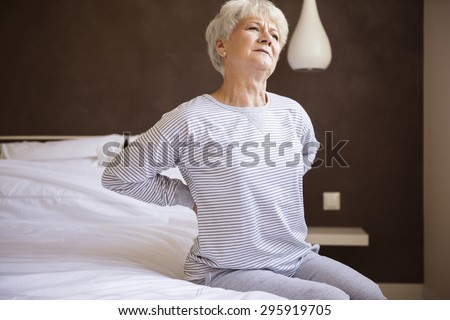 This bed isn't comfortable for me  - stock photo