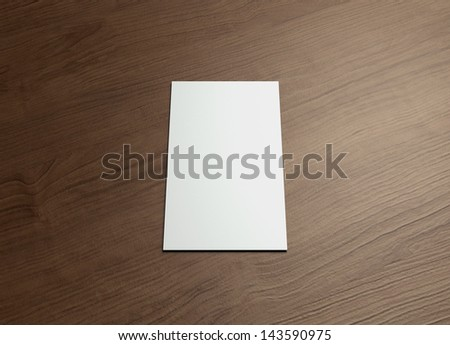 This business card presentation for promotion of Corporate identity. - stock photo