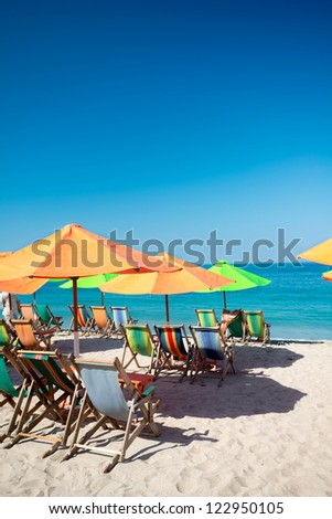 This image shows a beach scene in  Puerto Vallarta, Jalisco, Mexico