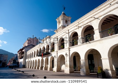 This image shows Salta, Argentina - stock photo