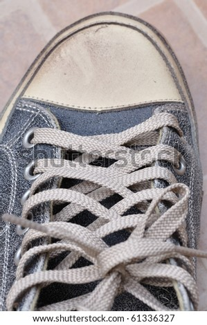 This is a comfortable shoe for men - stock photo