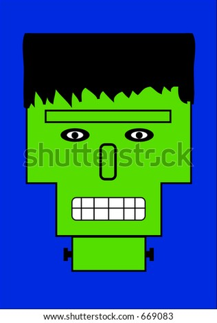 This is a scary Monster. - stock photo
