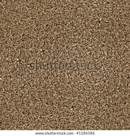 This is a seamless pattern texture background of corkboard. This is a photographic image. This also looks like brown carpet. - stock photo