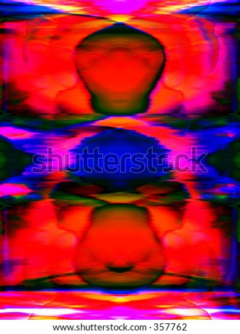This is an abstract colour background.