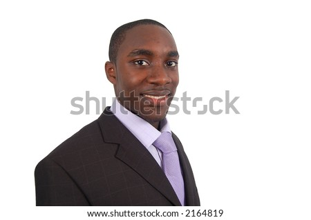 "This is an image of a smiling business man. This image can be used to represent ""Successful Business"" etc.. - stock photo"