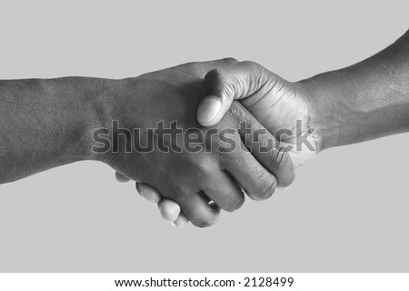 This is an image of two hands performing a handshake.