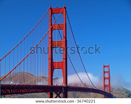 This is Golden Gate Bridge.