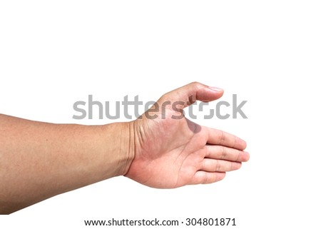 this is hand and Used feelings