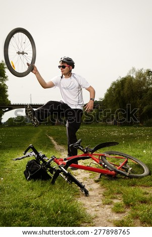 This is not nice trip - stock photo