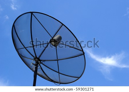 This is Satellite dishes for television in thailand
