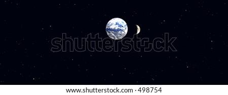 Nightime Sky Earth in The Nightime Sky