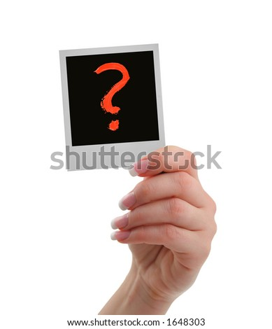 this is the question - stock photo