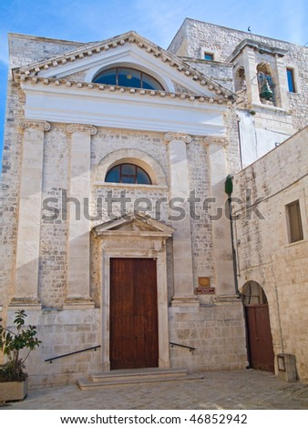 This is the St. John The Baptist Church. Giovinazzo. Apulia.