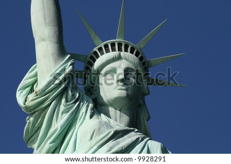 This is the Statue of Liberty Face